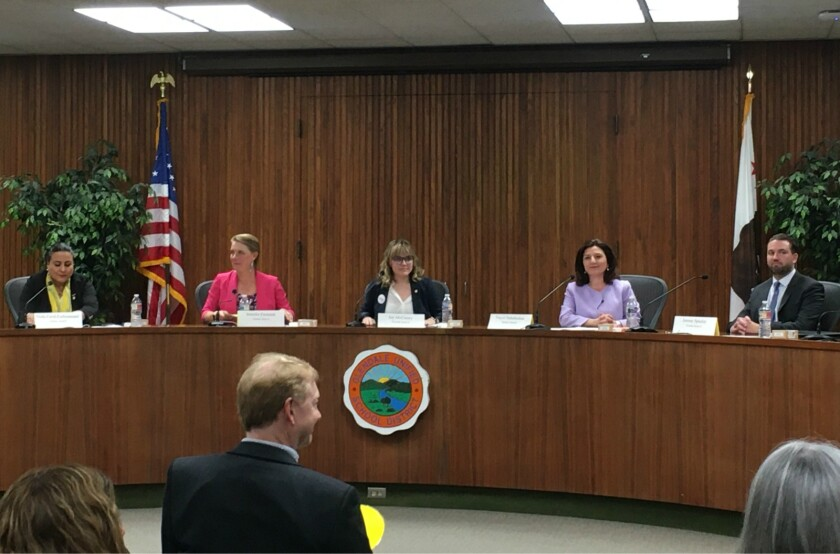 Glendale Unified candidate forum