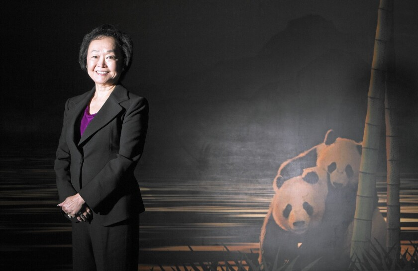 """""""Our business mentality is to focus on people and food and less on profit,"""" says Peggy Cherng, co-chair and co-chief executive of Panda Restaurant Group, which owns Panda Express. Cherng said she was satisfied with the profit margin, which she described as over 10%."""