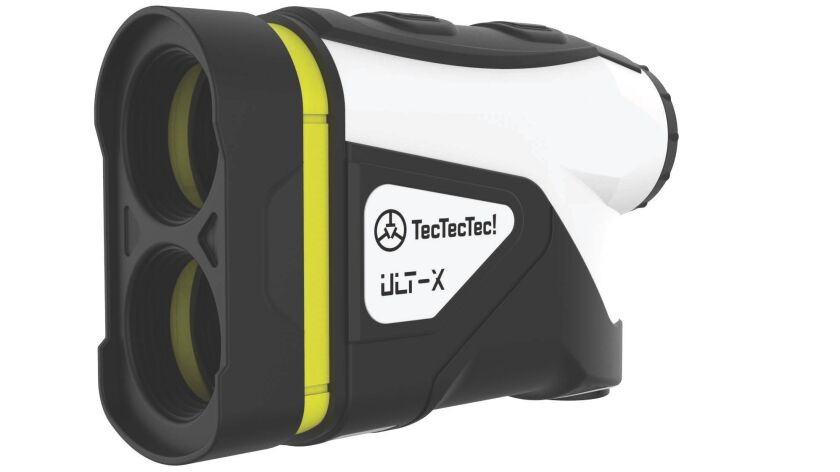 TecTecTec's new ULT-X, its most advanced golf laser rangefinder, accurately measures distances up to