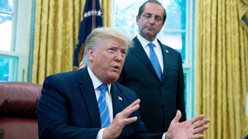 US President Donald J. Trump signs H.R. 3401 - emergency funding to address humanitarian crisis at the border, Washington, USA - 01 Jul 2019