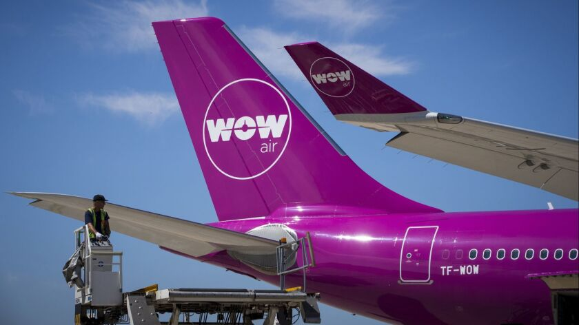 FILES-ICELAND-ECONOMY-TRANSPORT-AIR-AIRLINE-WOW