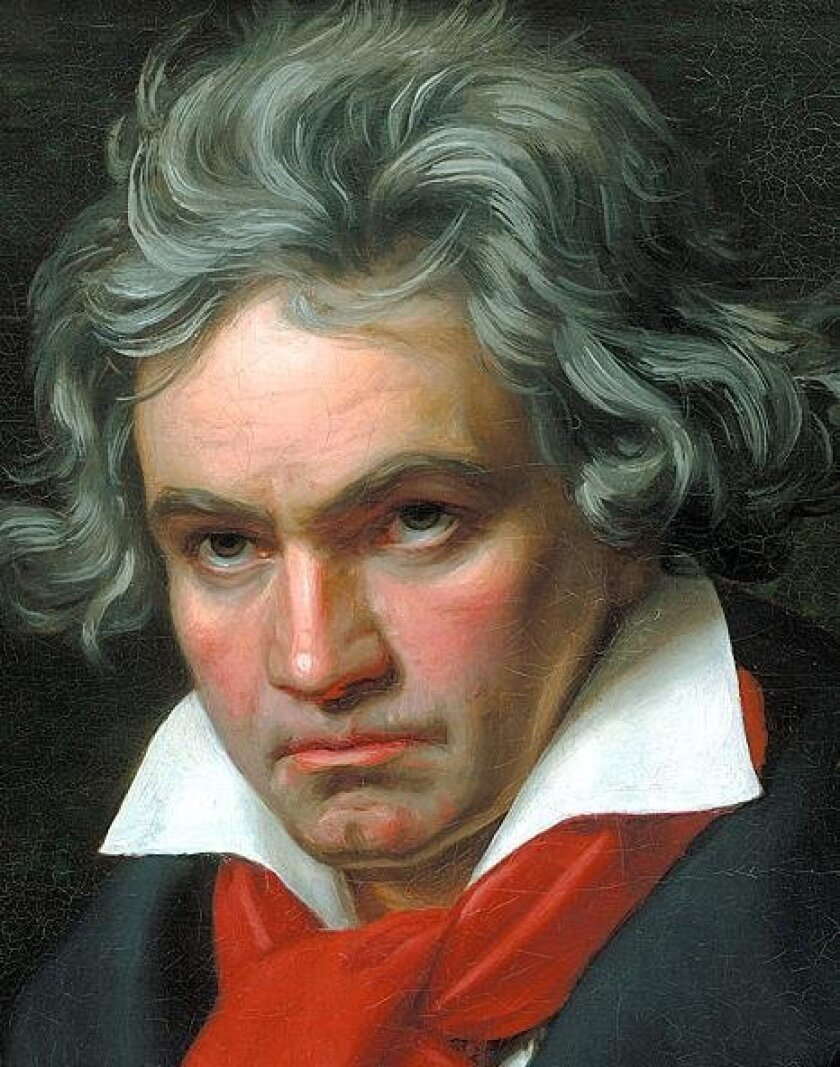 Ludwig Van Beethoven will be the topic of a lecture at La Jolla Community Center, 1 p.m. Tuesday, July 26.