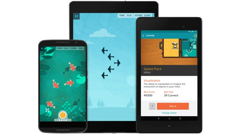 Lumosity makes brain training fun with games like these for your mobile devices. But there's scant evidence they achieve what the company claims.