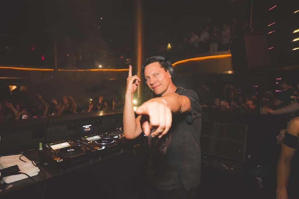 Legendary Dutch DJ Tiësto got behind the decks at OMNIA San Diego on Friday, June 22, 2018.