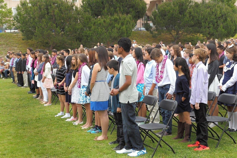 Solana Pacific Sixth Grade Promotion 2016