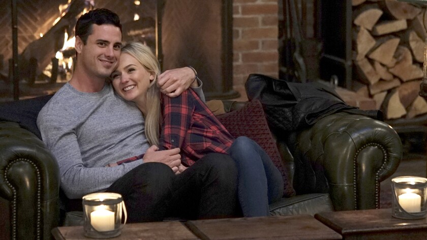 "Ben Higgins and Lauren B. in ""The Bachelor: The Greatest Seasons — Ever"" on ABC."