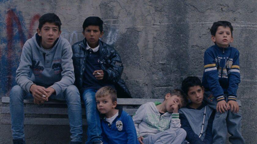 "The Amato Family in Jonas Carpignano's ""A CIAMBRA."" Credit: Sundance Selects"