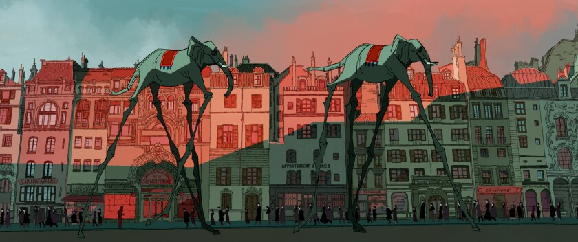 Review: 'Buñuel in the Labyrinth of the Turtles'; an animated deep dive into the artist's mind