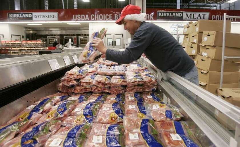 Costco recalled nearly 40,000 pounds of rotisserie chicken made with Foster Farms poultry. The chain is now carrying new batches of Foster Farms chicken.