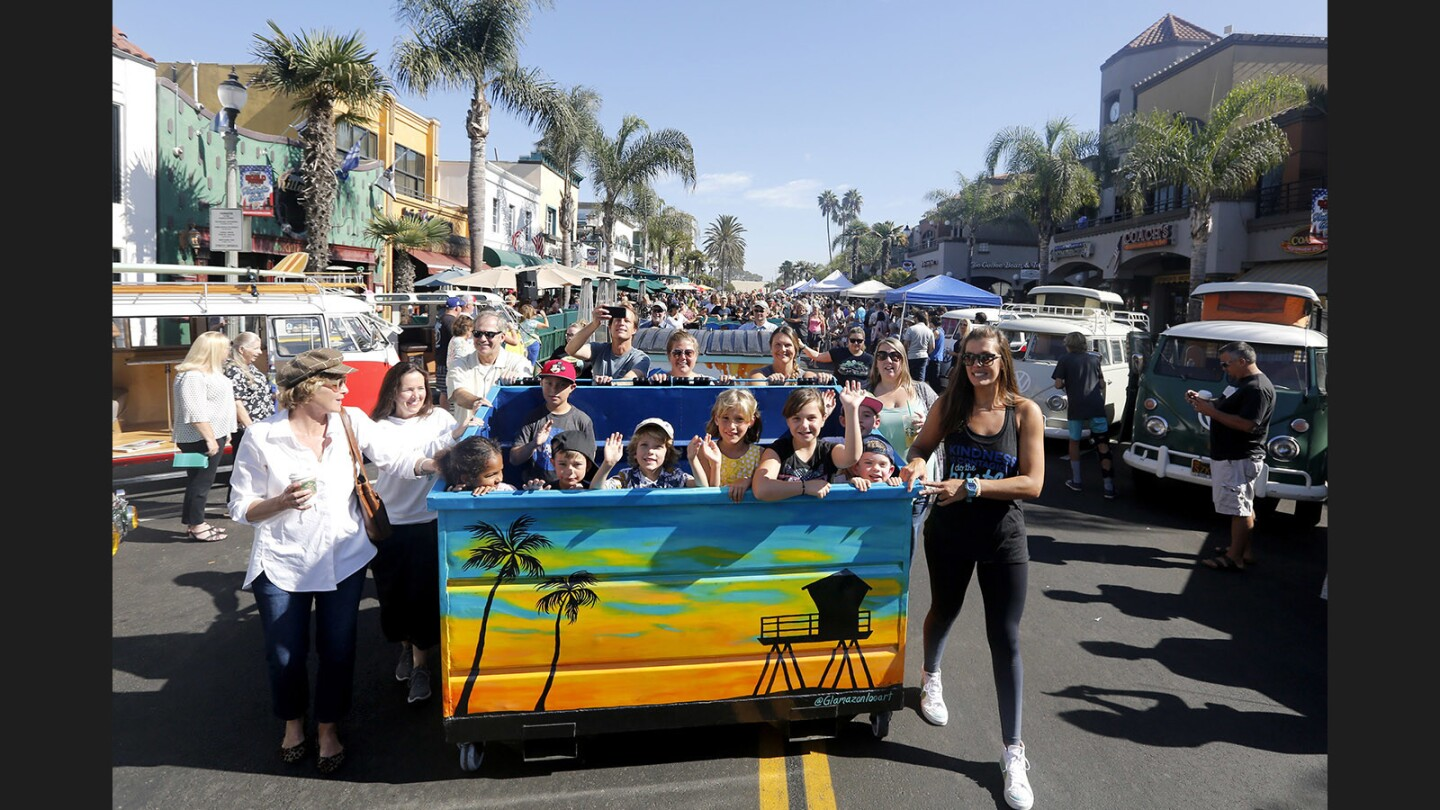Photo Gallery: Dumpsters on parade