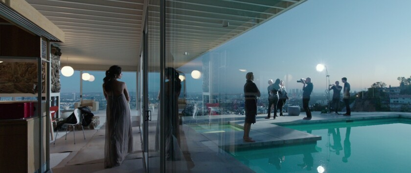 'Knight of Cups' at the Stahl House