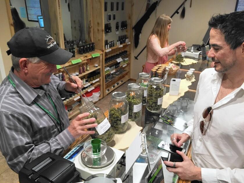 DeBeque, Colo., marijuana sales