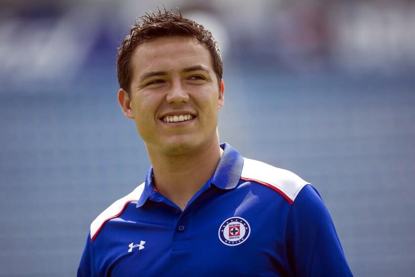 Erick 'Cubo' Torres, delantero del Cruz Azul, víctima de la inseguridad en Ciudad de México.