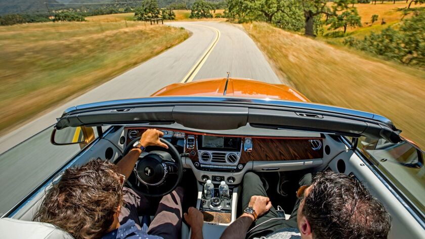 """The Rolls-Royce Dawn is the British motorcar company's new flagship """"drop top."""" At about $400,000, i"""