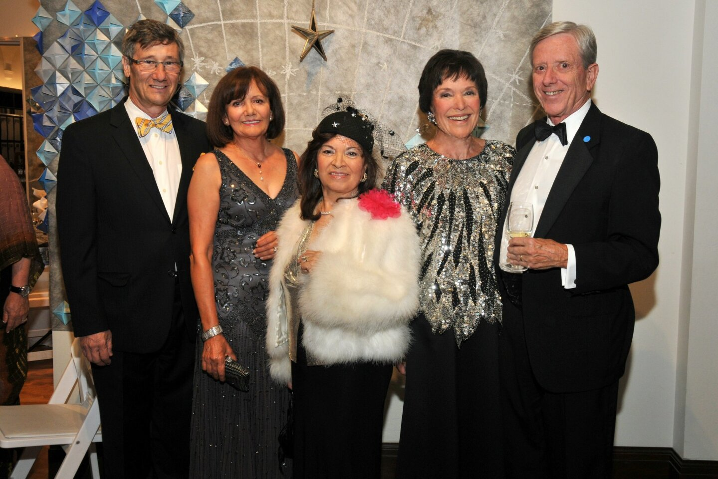Philippe and Maria Prokocimer (gala chair) with co-chair Alice Brana and (chair) Ginny Black and Bob Black