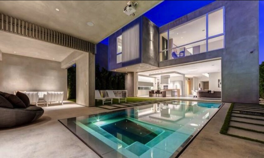 Andrew Modlin's home is a few blocks from MedMen's West Hollywood dispensary.