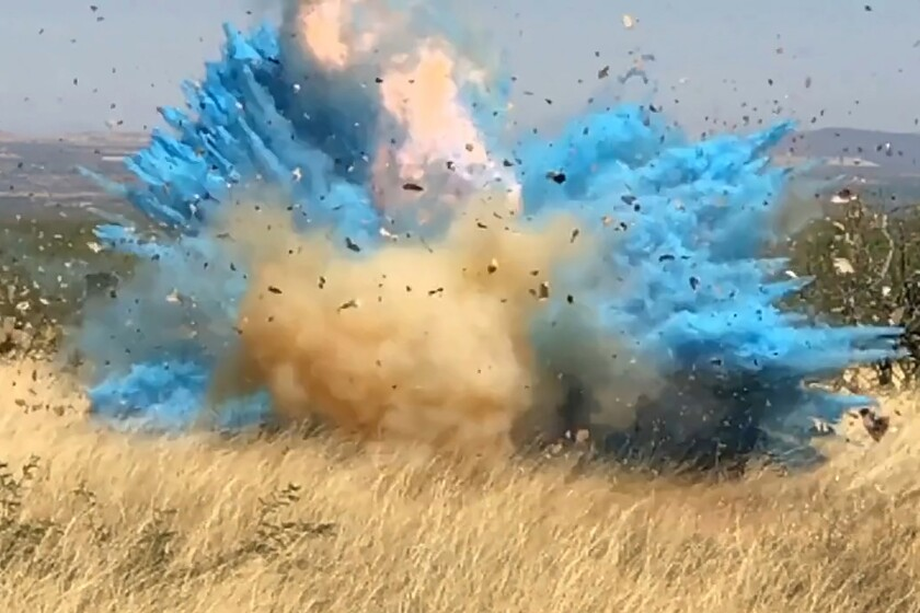 A gender reveal event in Arizona in 2017. It sparked a wildfire.