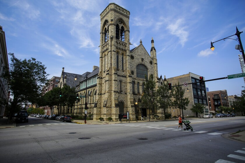 Second Presbyterian Church, near Perspectives Charter Schools in Chicago