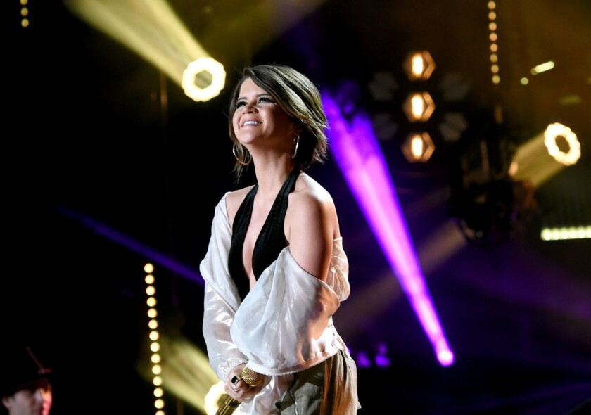 Singer-songwriter Maren Morris performs onstage during day 3 of the 2017 CMA Music Festival on June 10, 2017 in Nashville, Tennessee. (Rick Diamond/Getty Images)