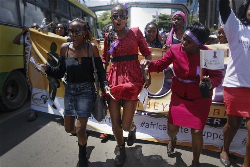 Another Woman Stripped Naked In Nairobi For -4192