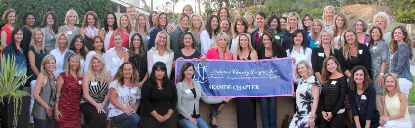 National Charity League's Seaside chapter is accepting applications for mothers with daughters entering grades 8-10 in the fall in La Jolla or central San Diego County. For more details, e-mail seasidencl@gmail.com