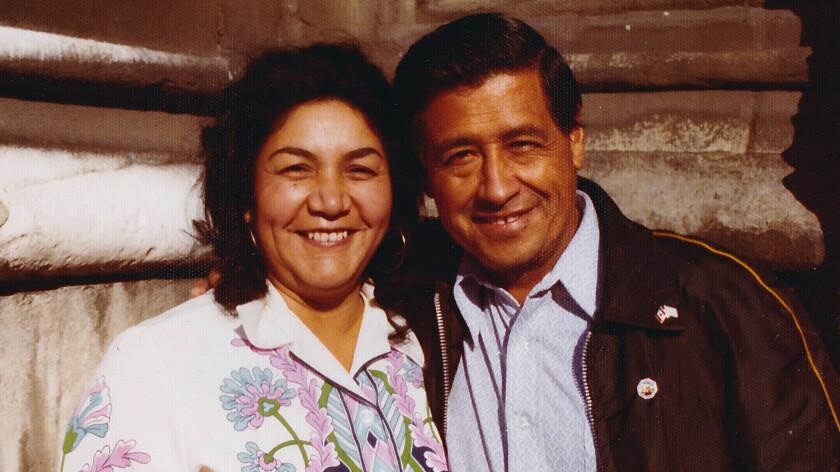 Helen and Cesar Chavez