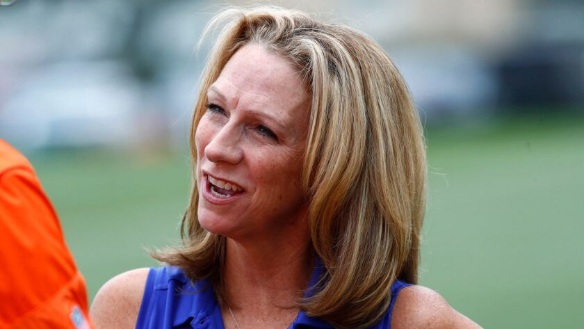 "Beth Mowins will be ESPN's play-by-play announcer for the ""Monday Night Football"" game between the Chargers and Denver Broncos, the first regular-season NFL game called by a woman in 30 years."