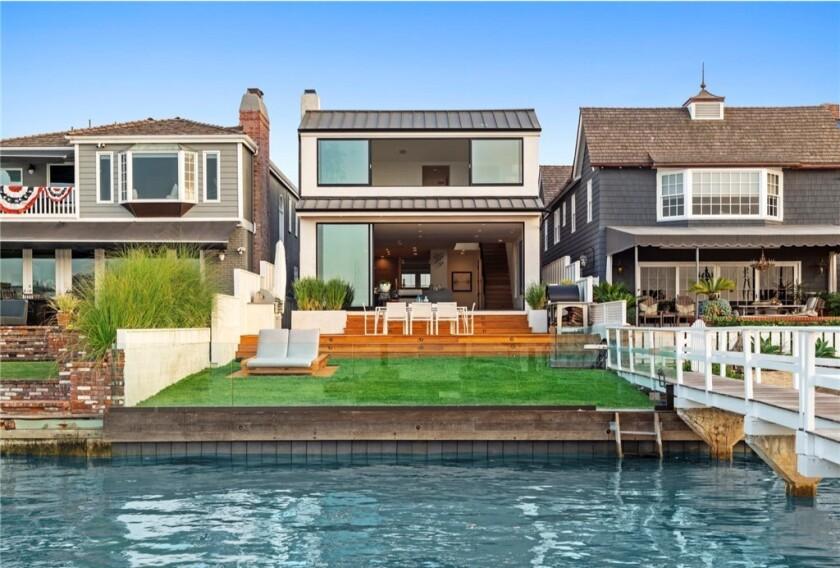 Robert Herjavec's Newport Beach home