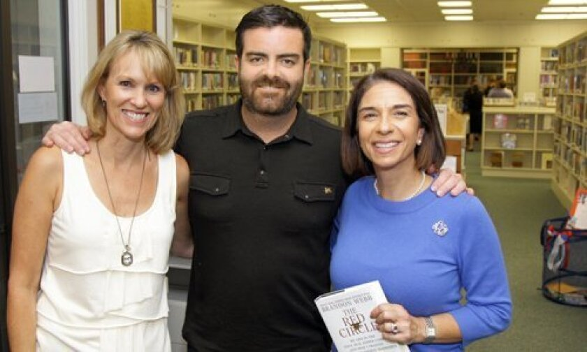 Christy Changaris, author Brandon Webb, Susan Appleby