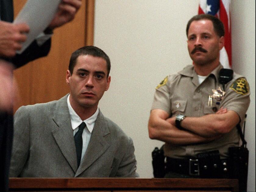 Robert downey jr jailed