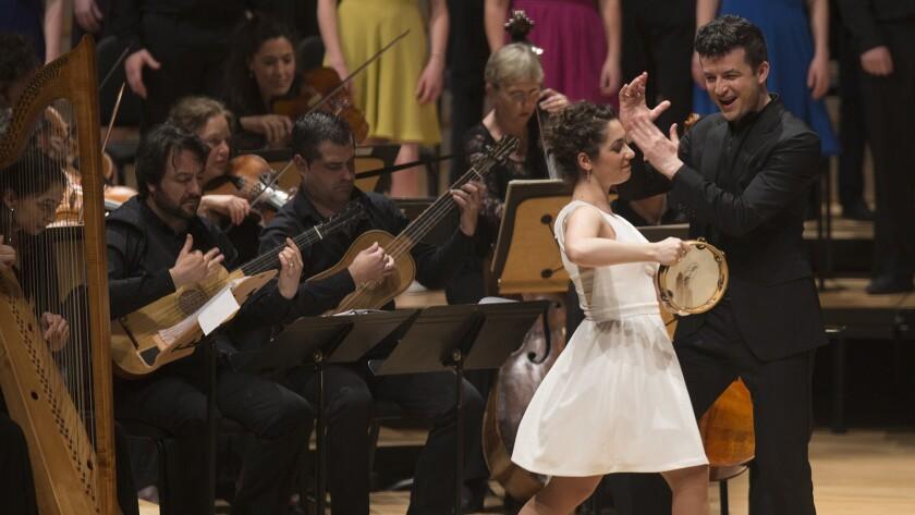 Francesca Aspromonte and Krystian Adam perform at Segerstrom.