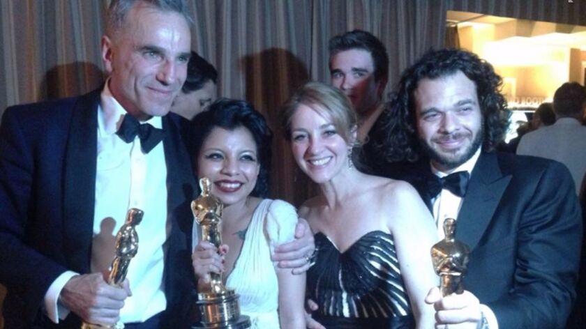 Inocente Izucar at 2013 Oscars