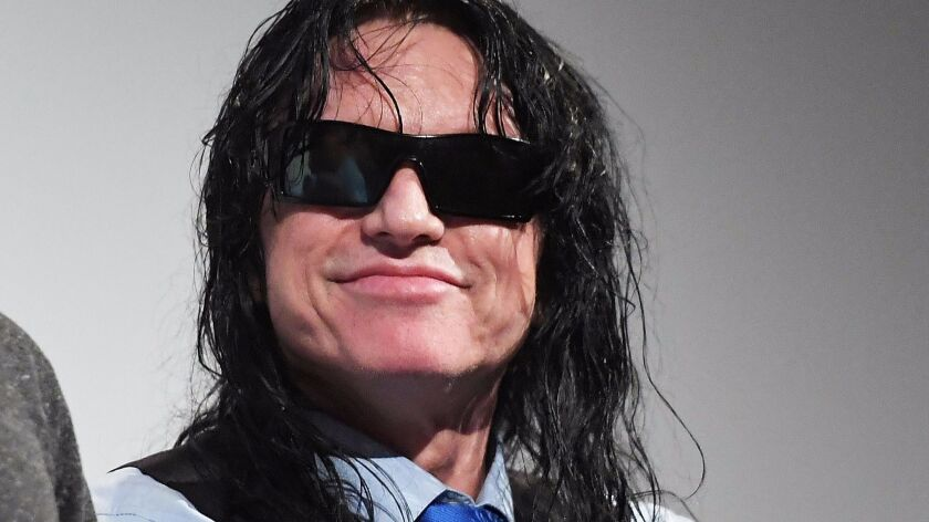 """""""The Room's"""" Tommy Wiseau at SXSW. His movie is the inspiration for """"The Disaster Artist,"""" James Franco's new movie, which premiered at the South by Southwest Film Festival."""