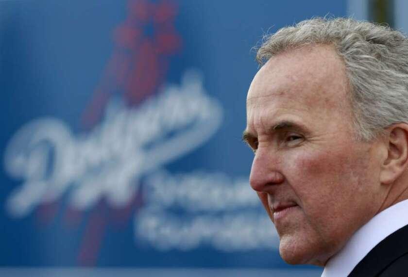 Former Dodgers owner Frank McCourt