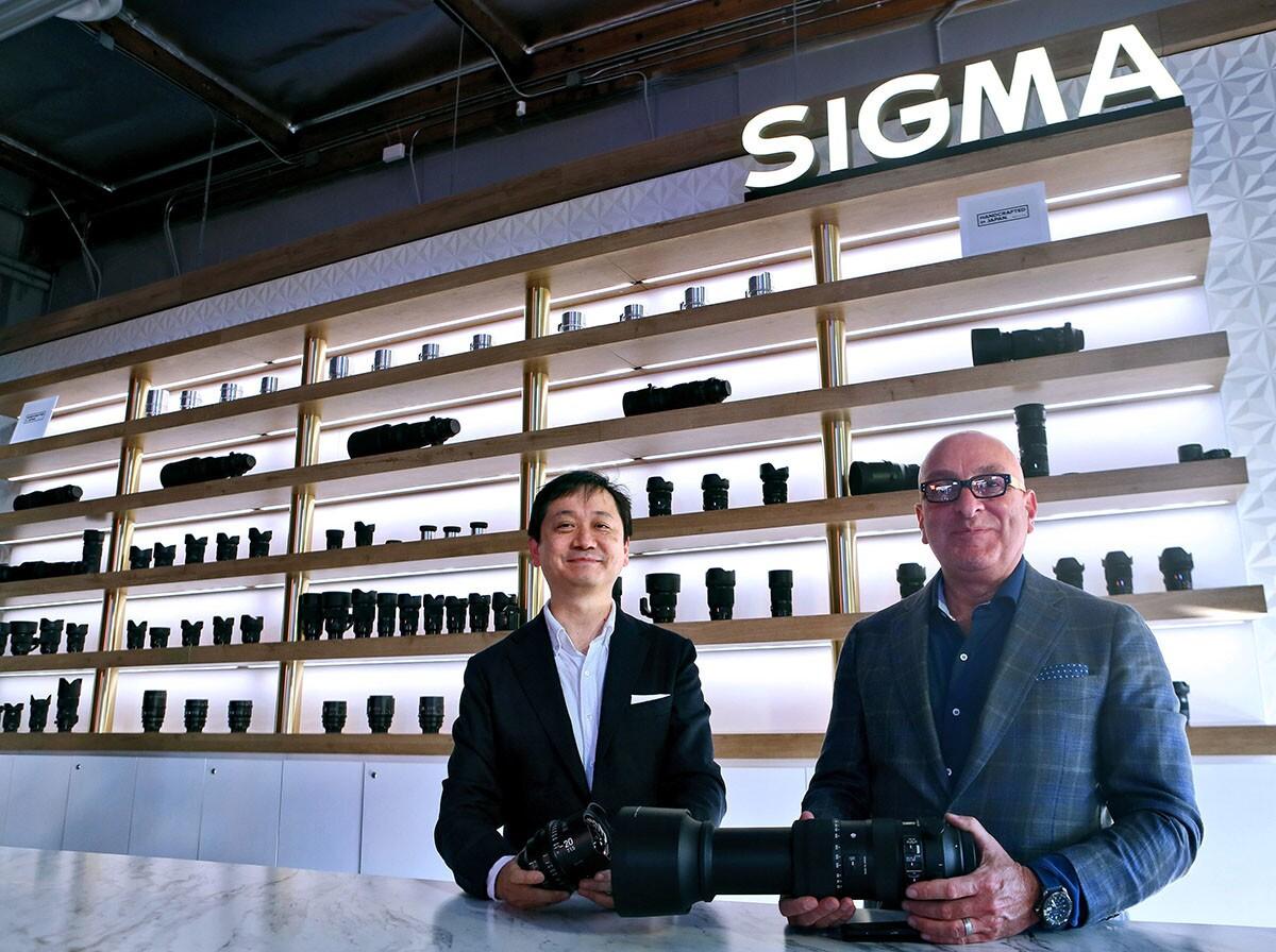 Photo Gallery: Photo equipment manufacturer Sigma opens showroom in Burbank