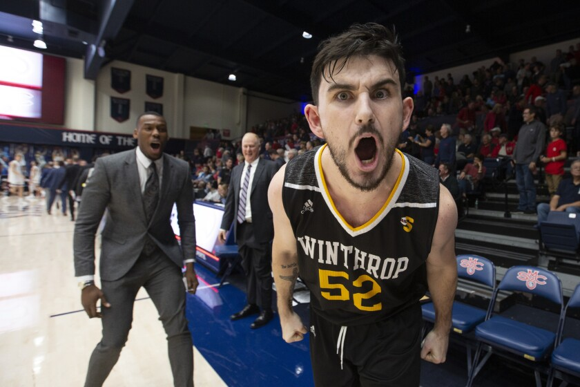 Winthrop Saint Marys Basketball