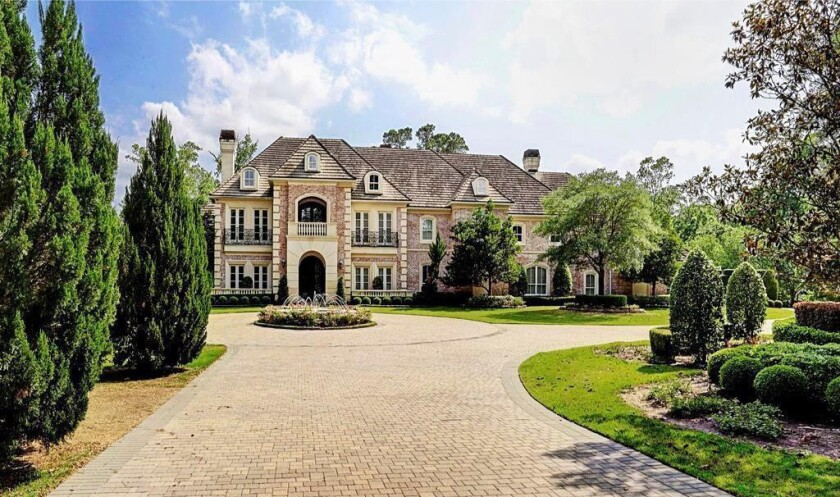 Adrian Peterson's Texas mansion