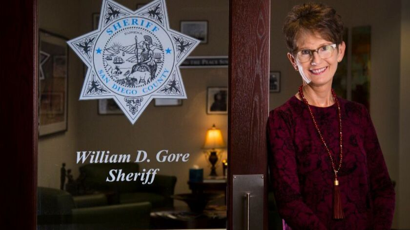 Sheriff's spokeswoman Jan Caldwell is retiring after 10 years in that job. Before that, she was an FBI agent.