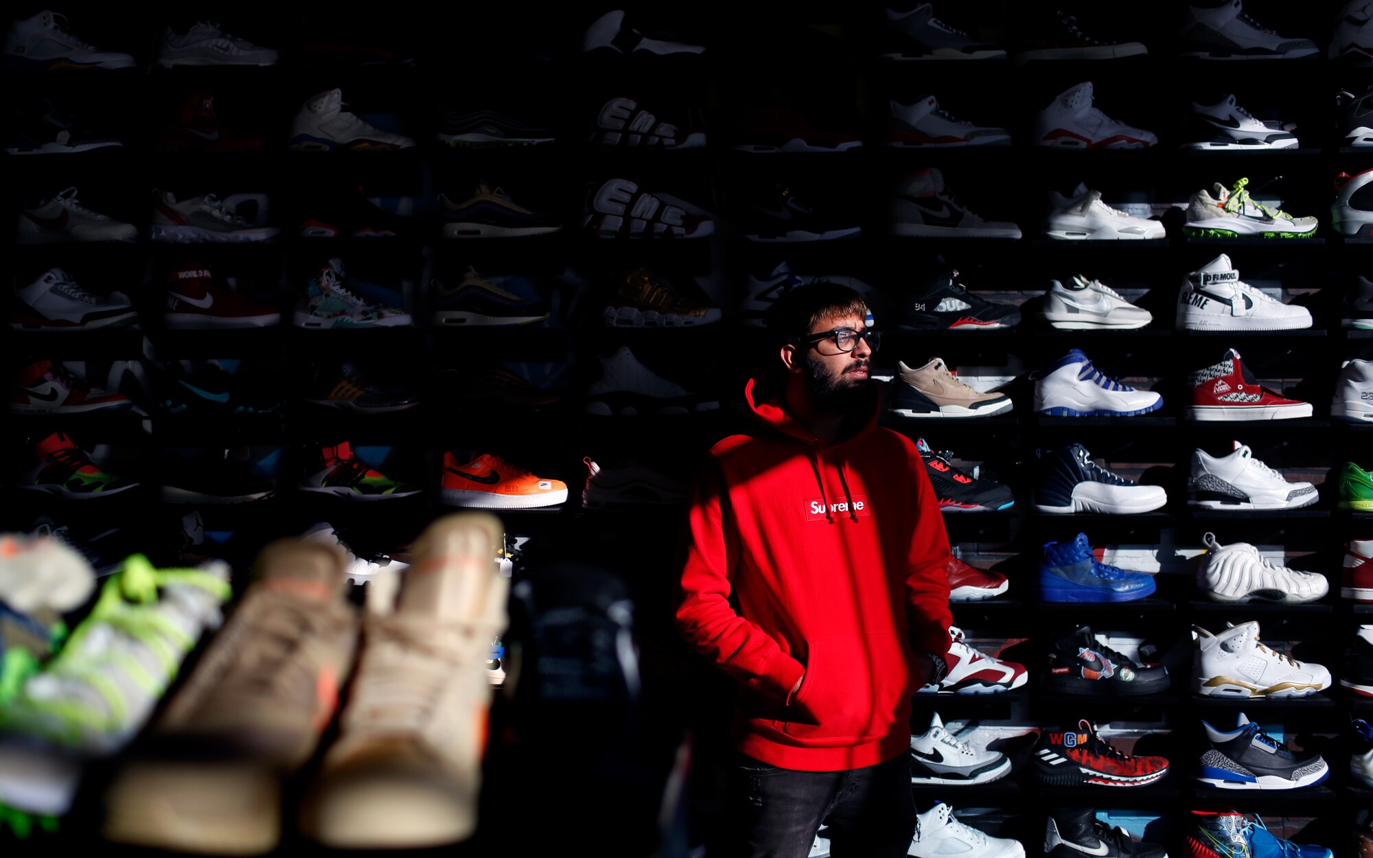 A no-savings generation is cashing in their sneaker collections - Los Angeles Times