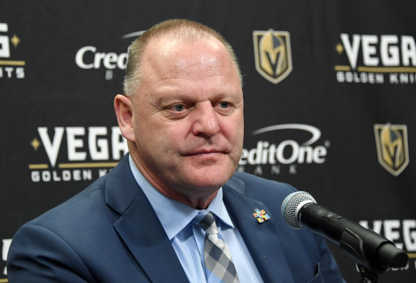 Column: NHL observations: Gerard Gallant's magic touch will be missed by Golden Knights