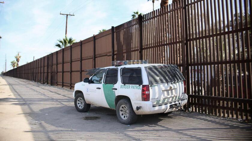Foto de archivo de una camioneta de la Patrulla Fronteriza.