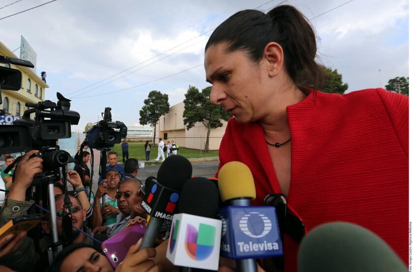 La senadora Ana Gabriela Guevara descartó que vaya a otorgar el perdón o permitir la figura jurídica de la mediación en el proceso judicial contra las personas que le propinaron una golpiza tras un incidente vial.