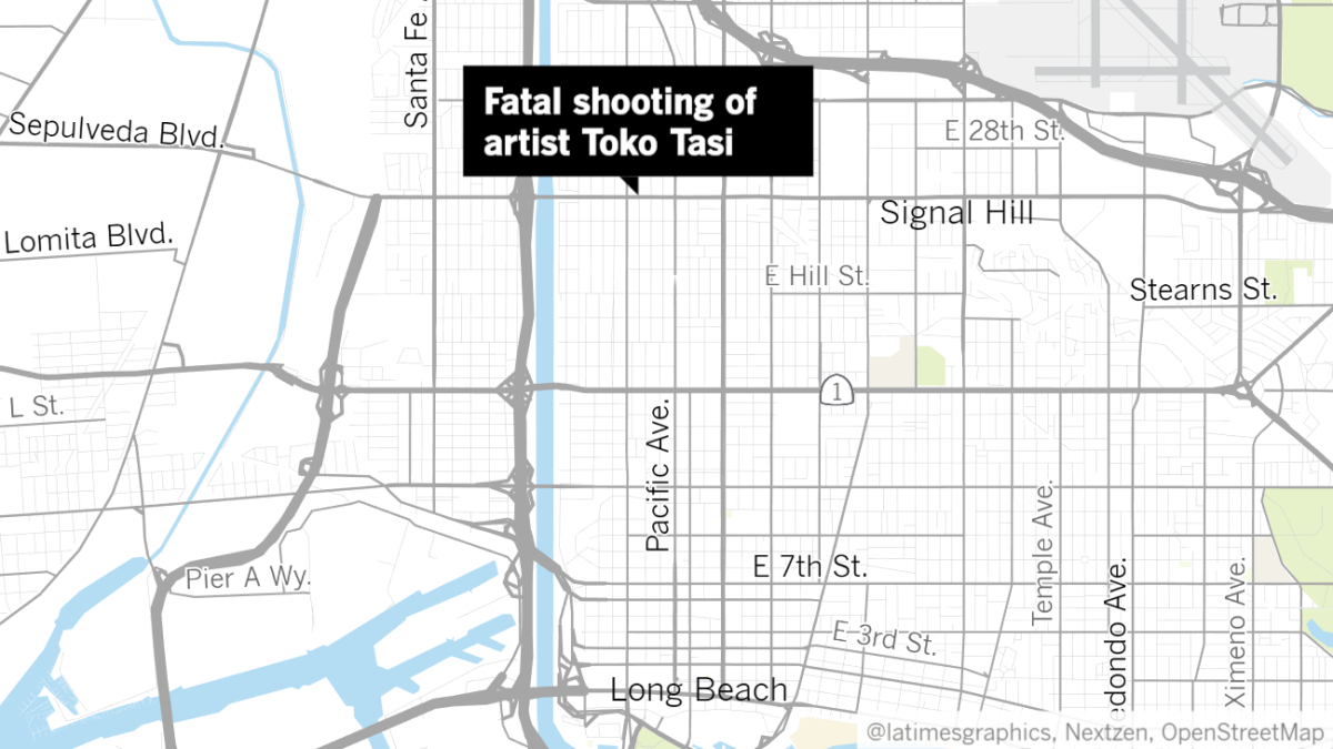 Two arrested in fatal shooting of musician Toko Tasi - Los