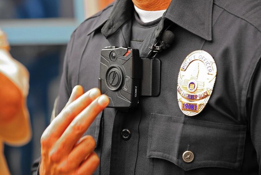 LAPD Taser body camera