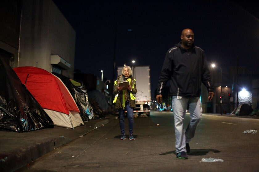 2019 Greater Los Angeles Homeless Count