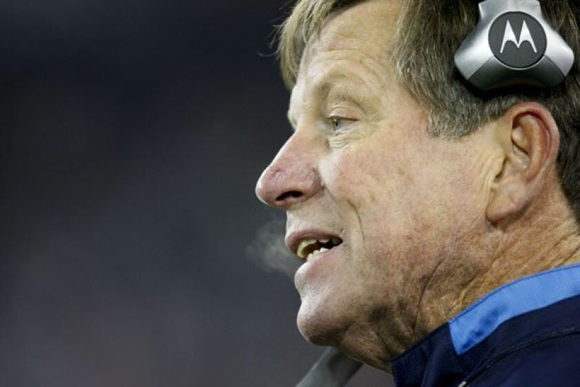 Chargers coach Norv Turner