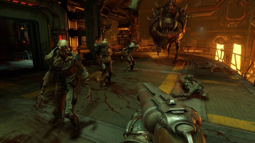 'Doom' popularized the idea of a first-person shooter, and a new edition was released this year.
