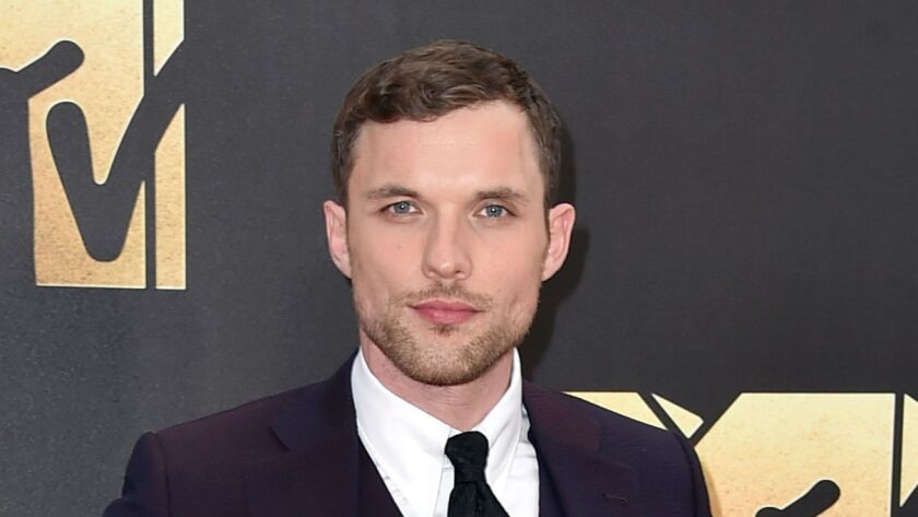 """Actor Ed Skrein arrives at the 2016 MTV Movie Awards in Burbank. A week after his casting in the upcoming """"Hellboy"""" reboot sparked outcries of whitewashing, Skrein has withdrawn from the film."""