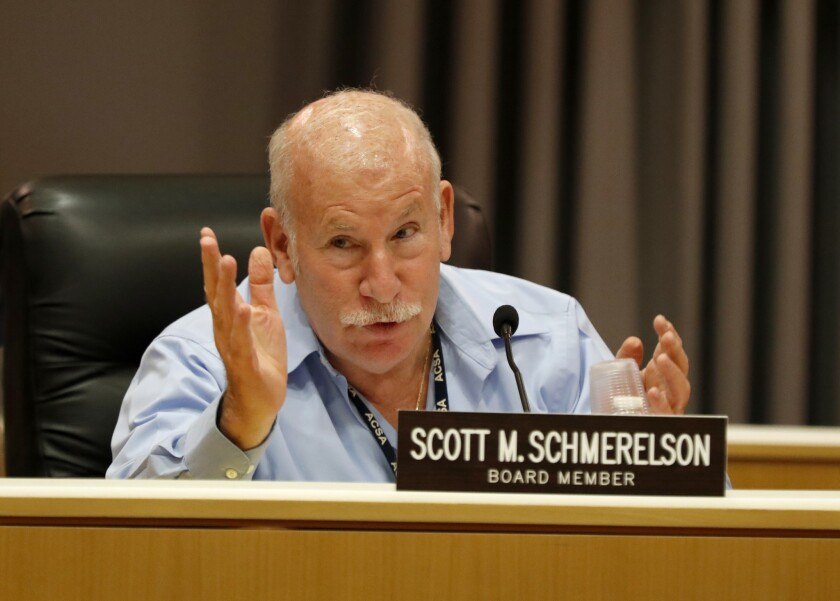 A charter school campaign targets L.A. School Board member Scott Schmerelson in attack mailers.
