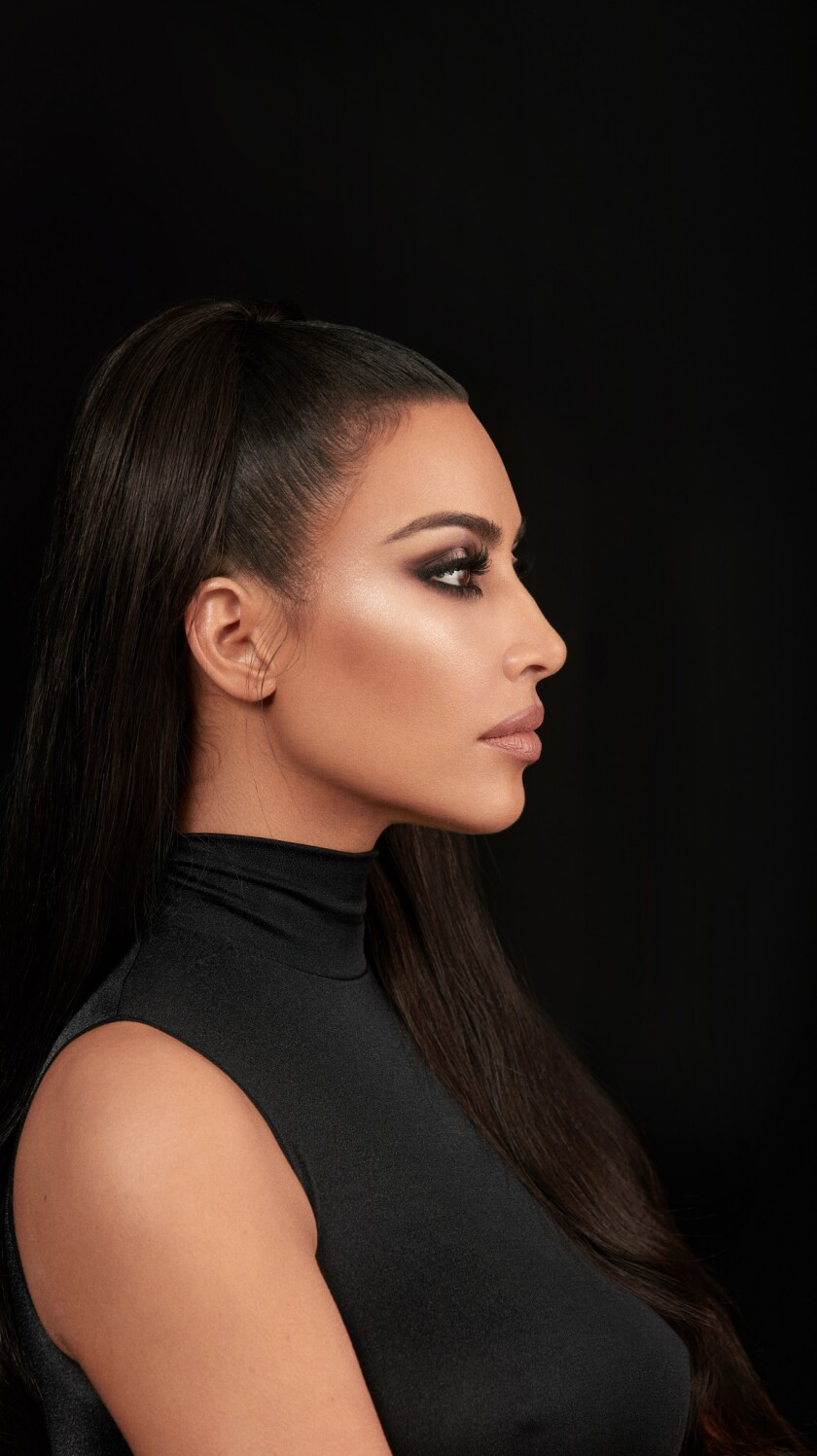 Kim Kardashian West for the Image section.